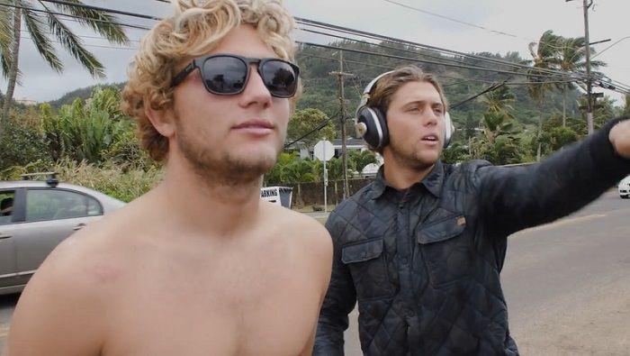 フリーサーフィンからワールドカップ優勝まで!コナー&パーカーのコフィン兄弟のハワイ動画