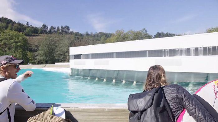 カリッサやコロヘがウェイブガーデン社デモ施設へ!ザ・コーヴのテストライド動画