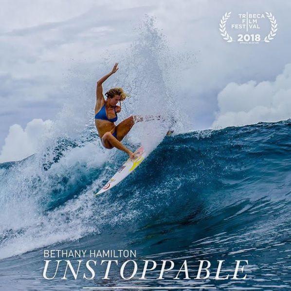 ベサニー・ハミルトンの新作「Unstoppable」のワールドプレミアがスタート