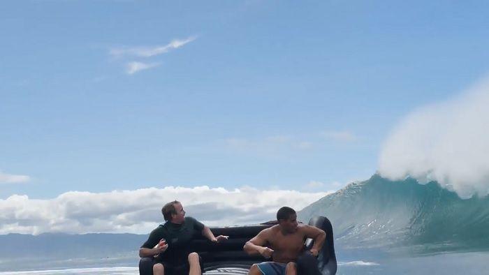 今季初スウェルのオアフ島ノースショア!ジェイミー・オブライエンの遊び方