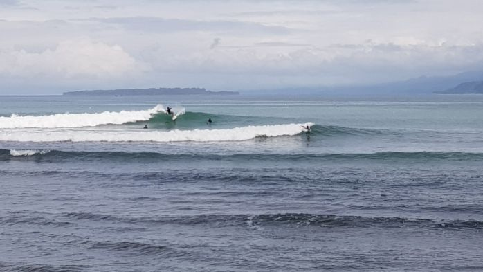 11月前半(レイトシーズン)のクルイ(インドネシア)波情報