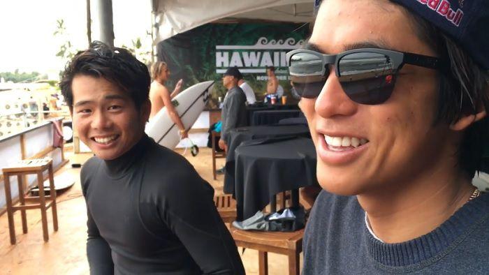 五十嵐カノアに大原洋人も!スネークテールズの2018年ハワイアンプロ