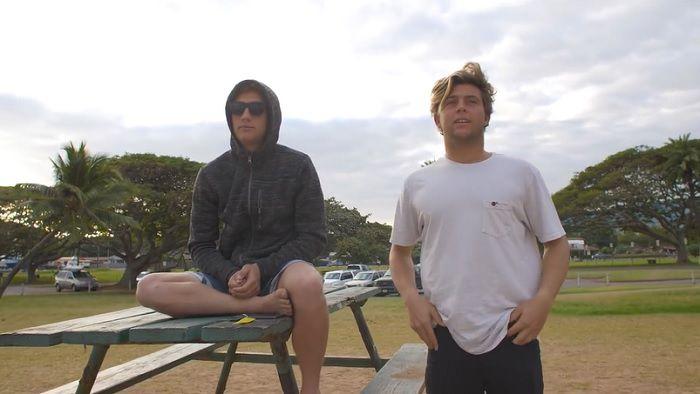 コナー&パーカーのコフィン兄弟による3日間のストライクミッション@ハワイ