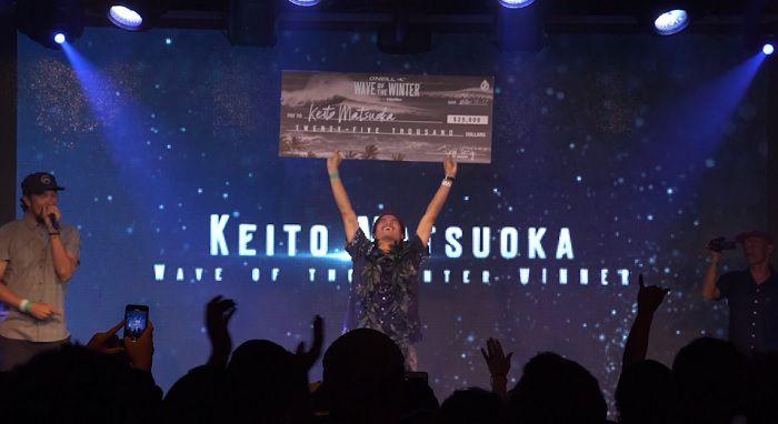 18/19年WOTW勝者は松岡慧斗!日本人初となる歴史的偉業を達成