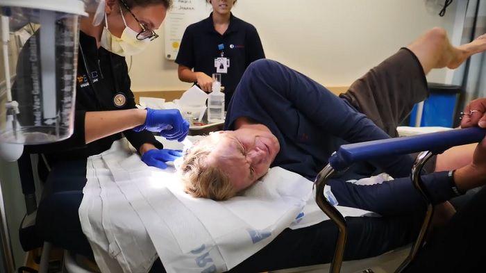 ジェイミー・オブライエンがパイプラインで後頭部をスライスする負傷