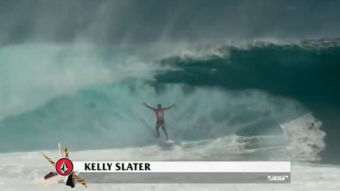 <必見>ケリー・スレーターのベストライドを集めた半端じゃないサーフ動画