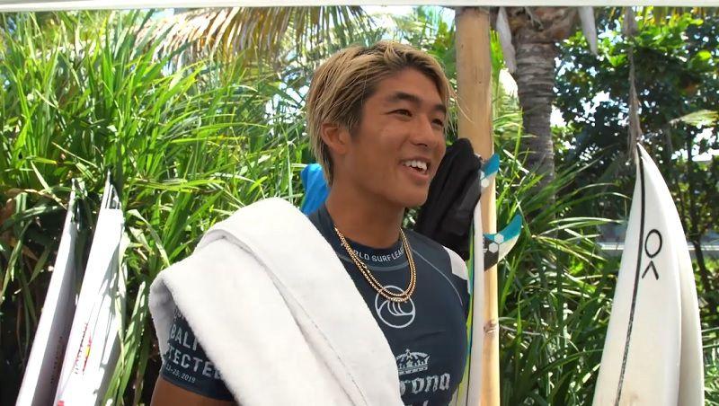 五十嵐カノアのCT舞台裏動画!初優勝のバリ島から西オーストラリア