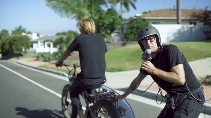 レッドブルエアボーン出場者の21時間を追う新エンタメ作品「21 Hours」
