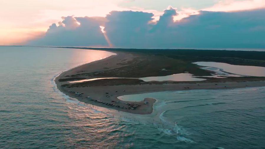 世界一ダイナミックなビーチのNC州ケープポイント!ブレット・バーリーの解説動画
