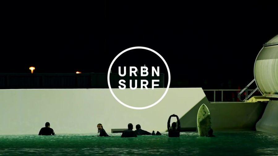 アーバンサーフのナイトサーフィン!プロによる人工波のテストライド動画