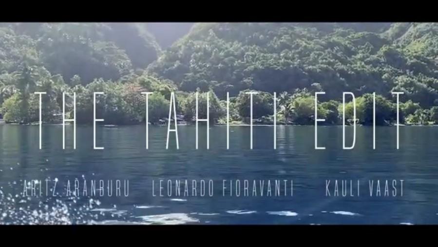アリッツとレオによるチョープーでのフリーサーフ動画!タヒチの入国制限